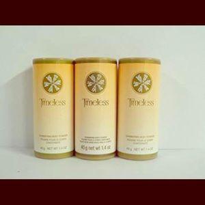 Lot of 3 Avon Timeless Body Powder Talc
